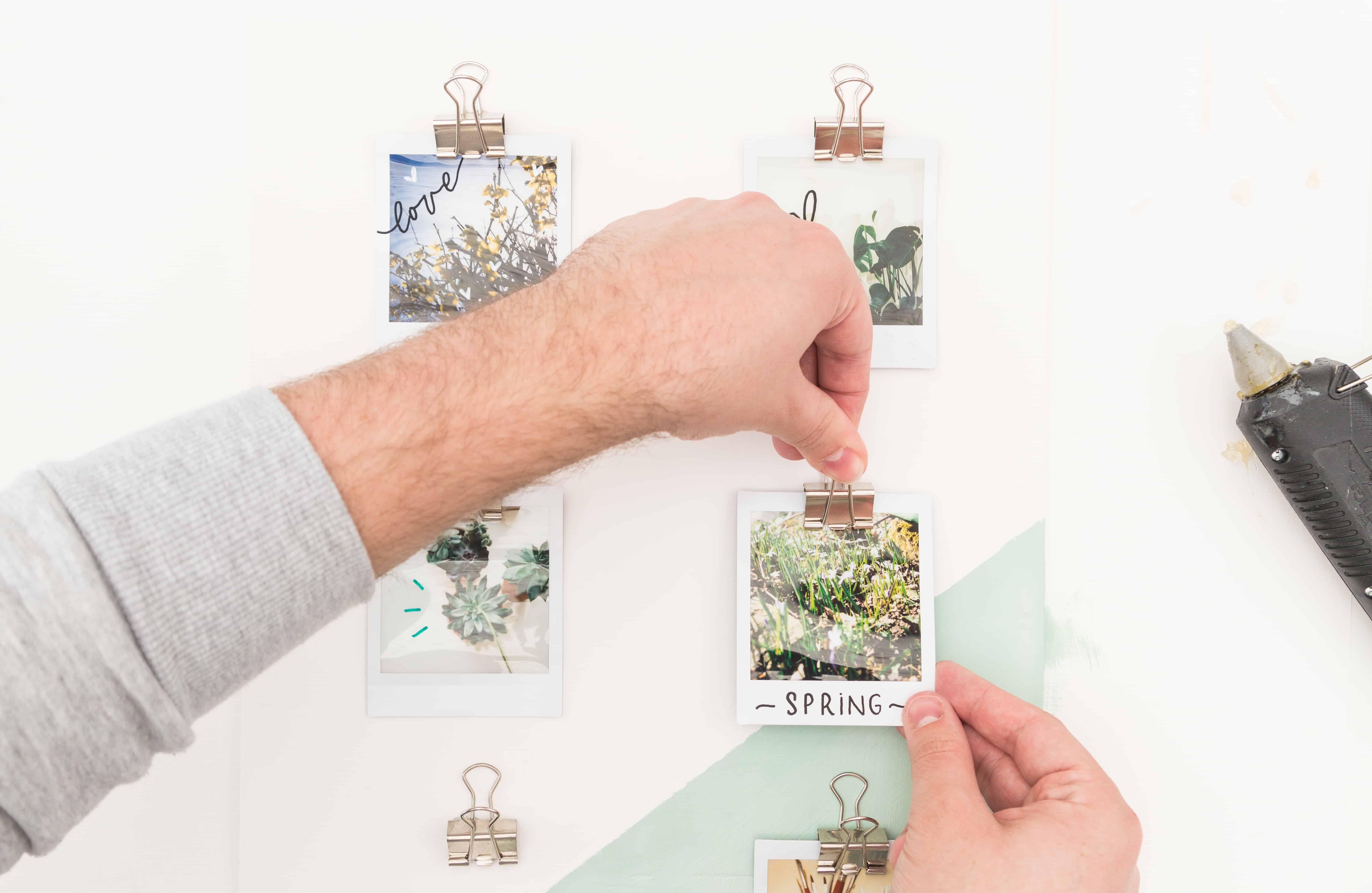 DIY Fotohalter