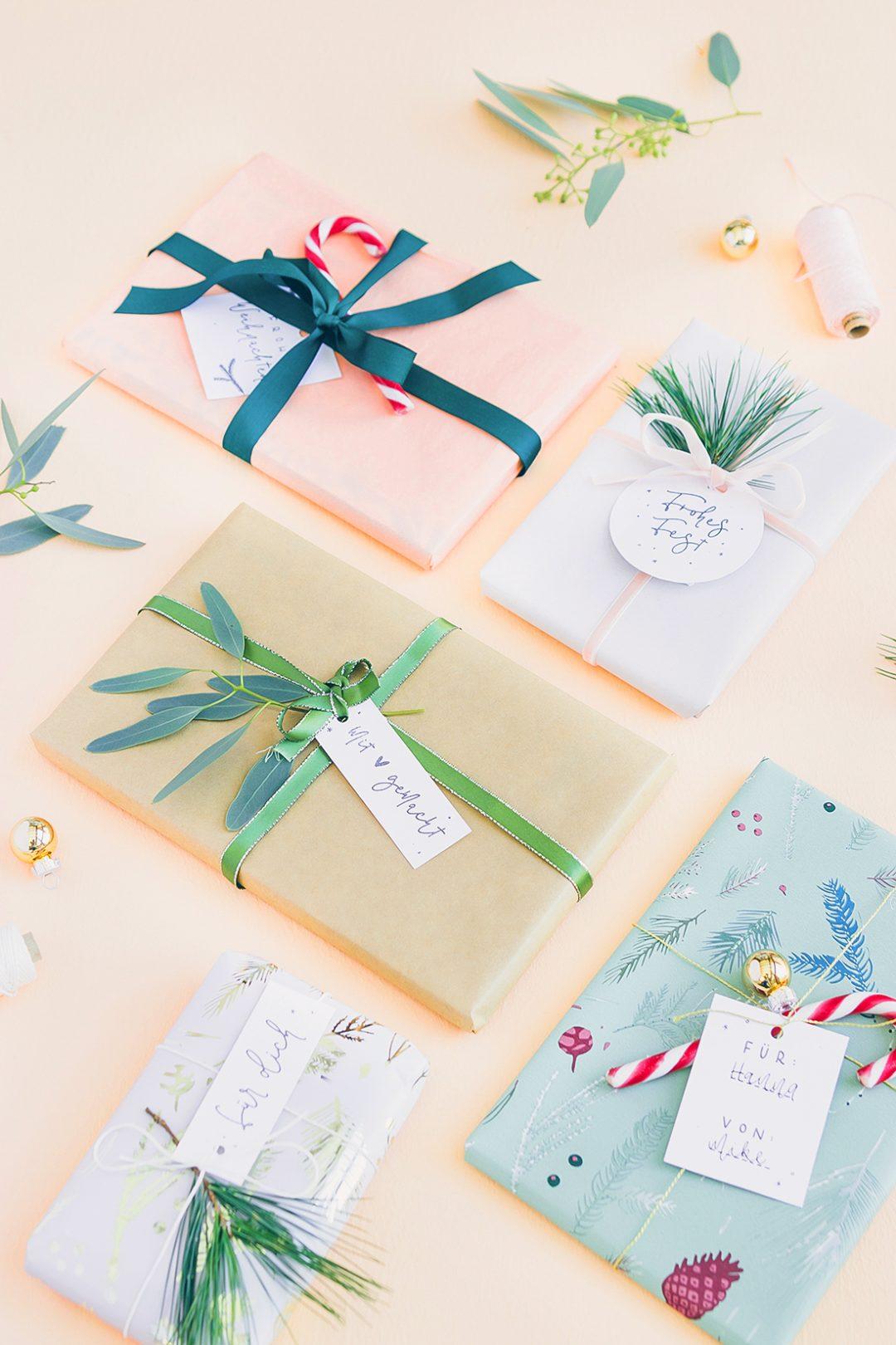 Diy Geschenkeanhänger Für Weihnachten