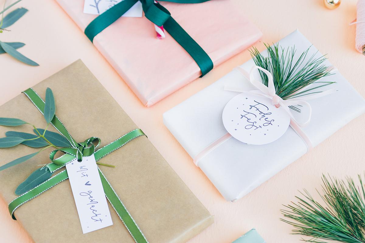 Geschenkeanhänger-Weihnachten-Basteln