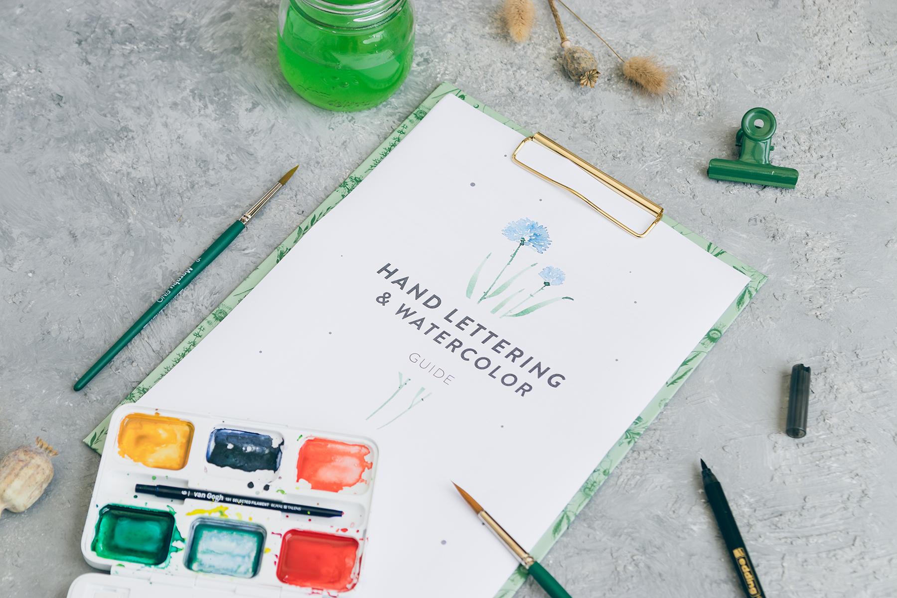 Lettering und Watercolor Workshop