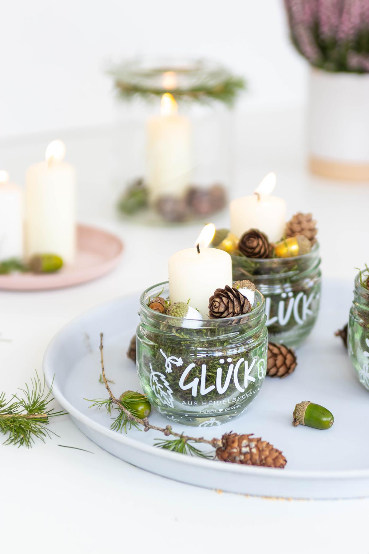 DIY Herbstliche Tischdeko