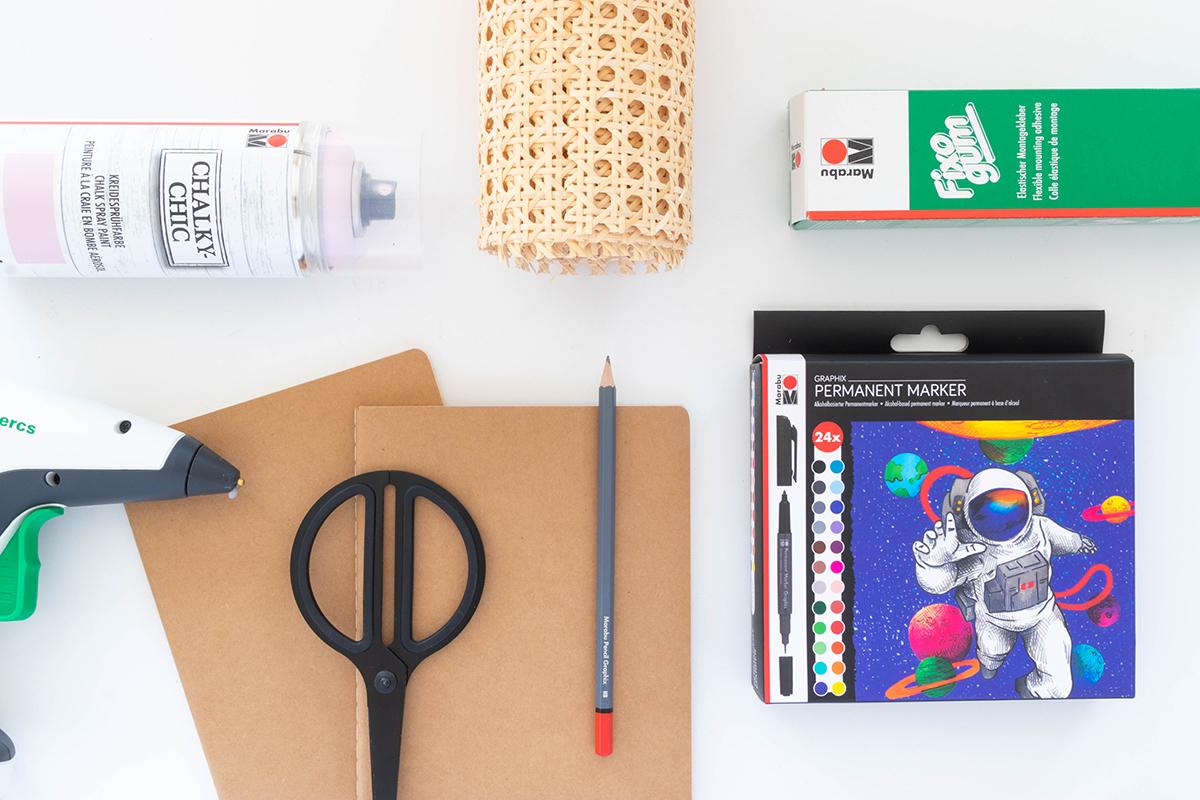 DIY Notizbücher gestalten