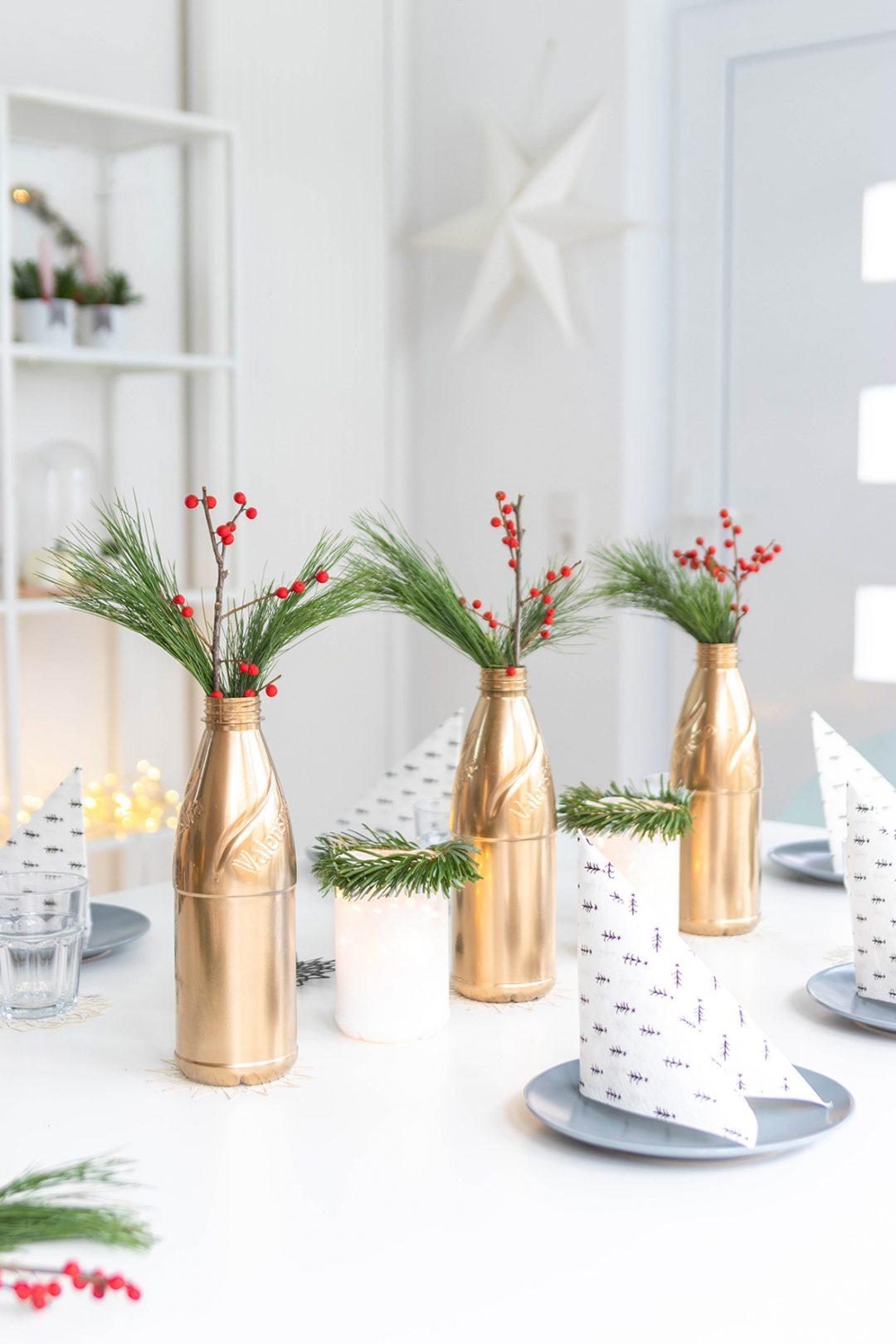 DIY Tischdeko für Weihnachten basteln