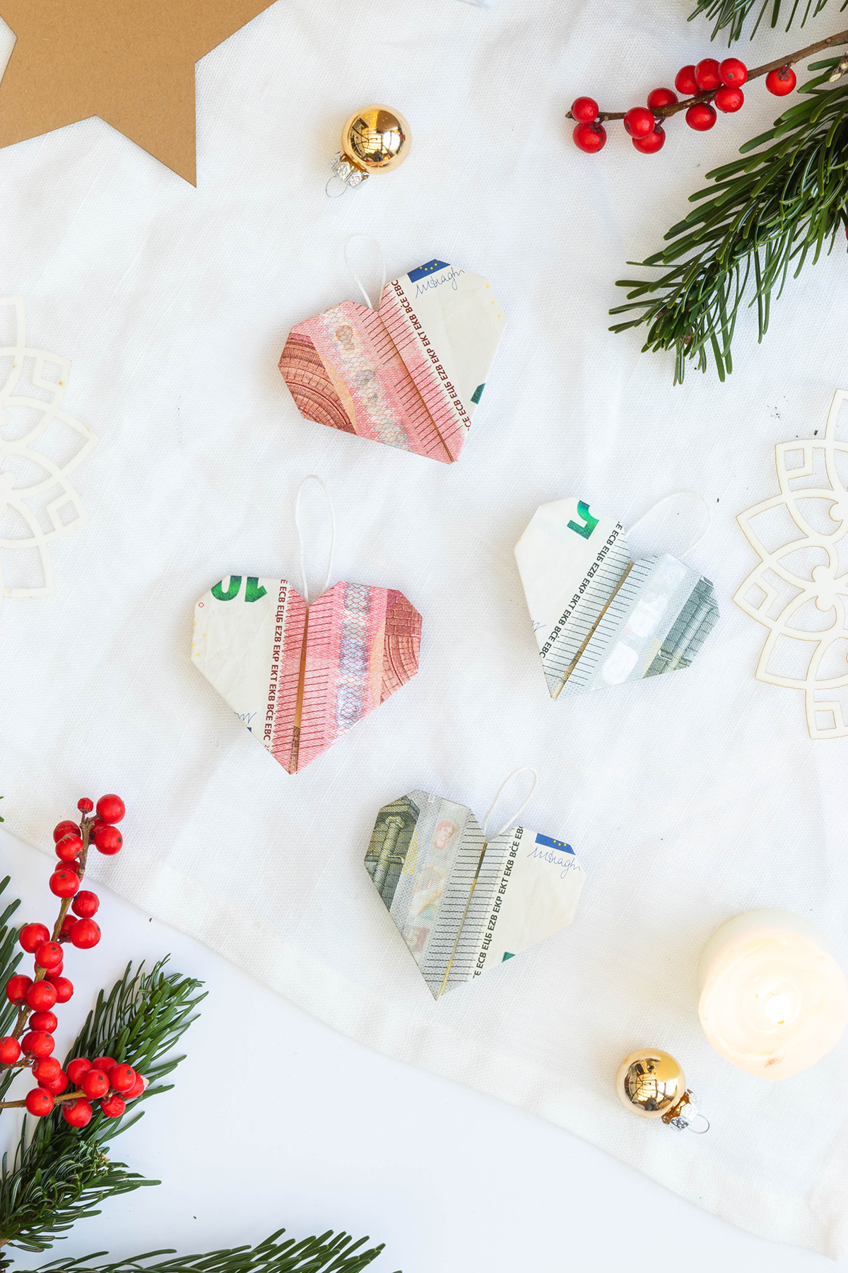 Weihnachtliches Geldgeschenk