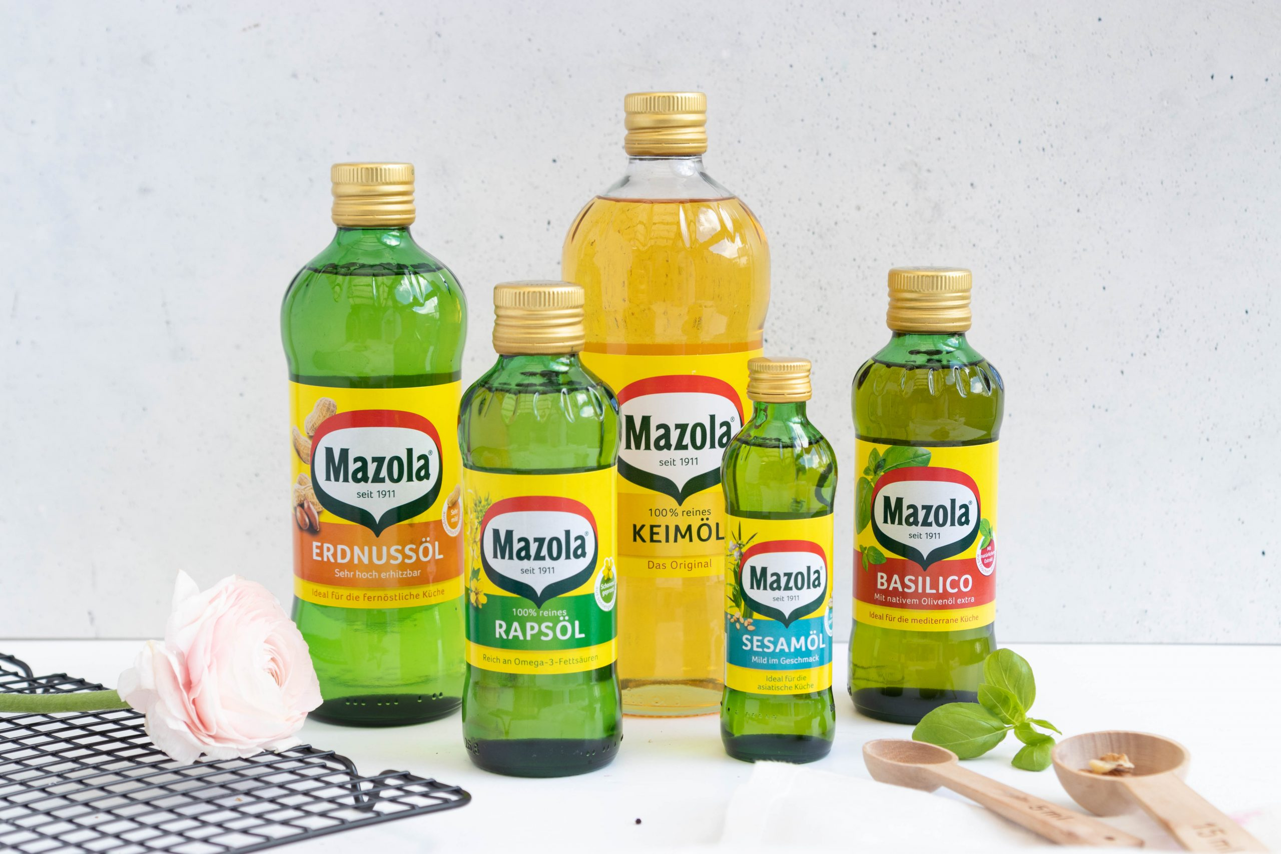 Vasendeko aus alten Flaschen