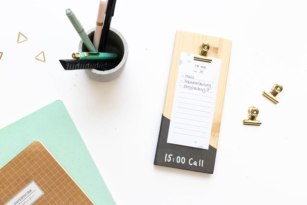 diy Schreibtisch Accessoires