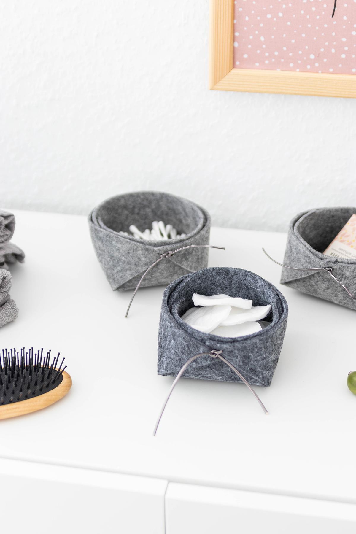DIY Dekoideen fürs Bad basteln